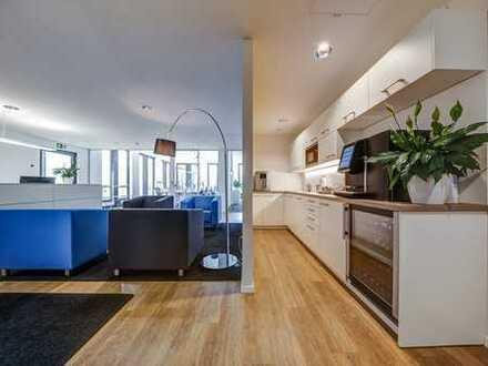 Stilvoll eingerichtete Büros für 6 Personen - Auf Zeit oder Dauer - Mit Fullservice!