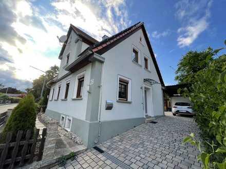 Modernisiertes Einfamilienhaus in Flachslanden