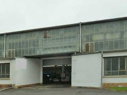 Beheizbare Halle (mit Bürofläche möglich) - An der A14 Anschluss Leipzig Ost!