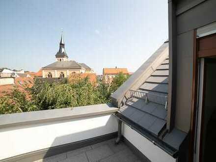 Barrierefrei!Rathausblick! Aufzug direkt in Ihre Dachterrassenwohnung in Pfaffenhofen a.d. Ilm