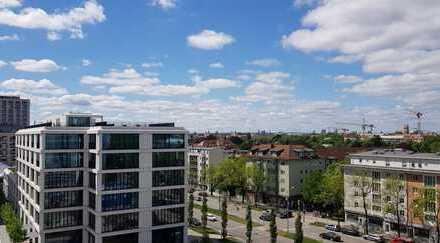 Luxus Rooftop 1 Zimmer Neubau Erstbezug zum Kauf, Leopoldstr. 204, München