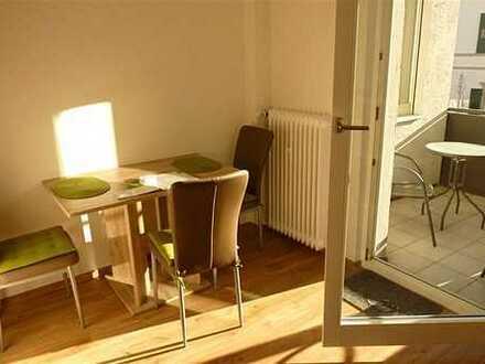 Ab Dez: Komplett möbl. Apartment mit Loggia in Baden-Baden nahe SWR inkl. Strom, WLAN