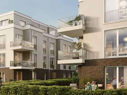 Hohen Neuendorf OT Bergfelde, hochwertige 3 Zimmer Wohnung in moderner Stadtvilla, Erstbezug