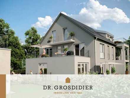 Dr. Grosdidier: Komfortable 2-Zi.-Garten-Whg.! Neubau! Erstbezug!