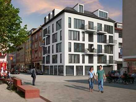 Ein Zuhause im Herzen Münchens! Sympathisches 2-Zimmer Apartment mit 2 ruhigen Balkonen