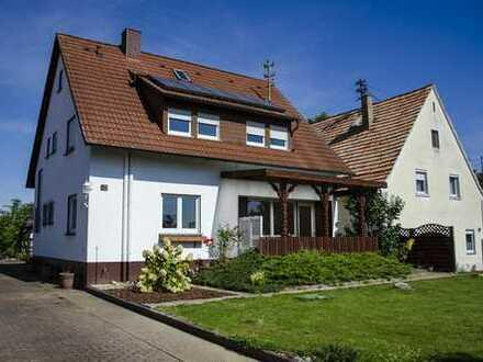 Schönes Einfamilienhaus mit großem Garten in Rheinnähe, Leimersheim