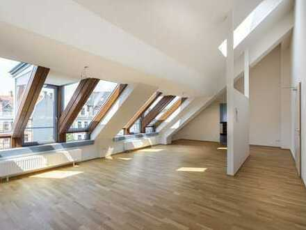 Ab sofort: Dachwohnung | Bad mit Wanne & Fenster | Duschbad | Balkon | Küche sep.