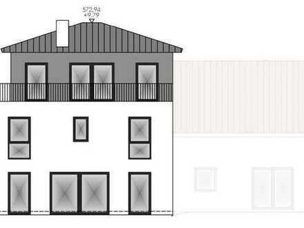 Erstbezug in Doppelhaushälfte: stilvolle 5-Zimmer-Terrassenwohnung in Gauting