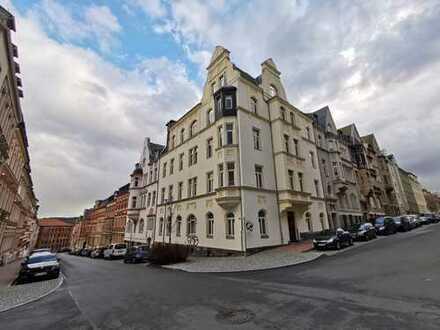 Geräumige, gepflegte 1-Zimmer-Erdgeschosswohnung zur Miete in Plauen