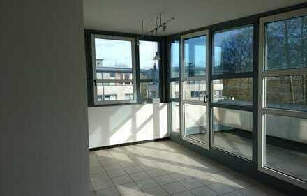 Helle geräumige 3-Zimmer-Wohnung 96m2 mit zwei Balkonen in Greven mit Blick ins Grüne