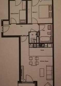 Exklusive, neuwertige 2,5-Zimmer-Wohnung mit Balkon und Einbauküche in Barmbek-Nord, Hamburg