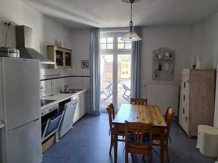 Gepflegte 5-Zimmer-Wohnung mit Balkon und EBK in Düsseldorf