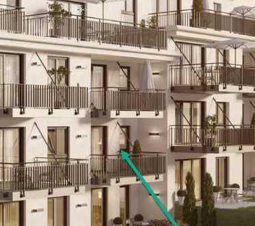 Neuwertige 3-Zimmer-Wohnung mit zwei Balkonen und Garagenstellplatz - Zentrumsnah - barrierefrei