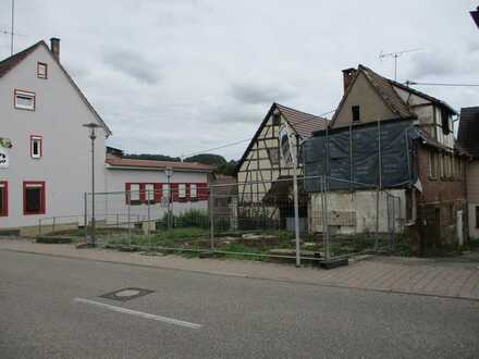 Baugrundstück in der Ortsmitte von Kleingartach steht zum Verkauf
