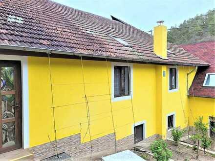 Frisch renovierter Altbau mit 6 Zimmern + 3 Grundstücke