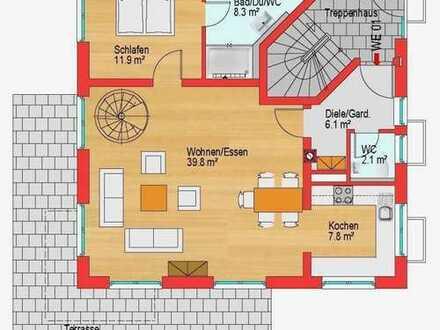 Außergewöhnliche Wohnung über zwei Etagen // Hochwertige Ausstattung // Gute Infrastruktur