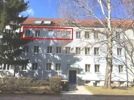 Renovierte 3-Zimmer-Wohnung mit EBK nähe Domplatz in Erfurt