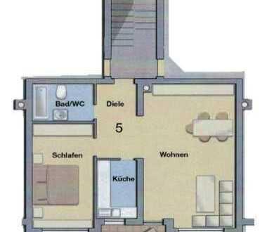 2-Zimmer Wohnung in stadtnaher und ruhiger Lage