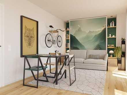 Kurze Wege für alle Unternehmungen! Moderne 2-Zimmer-Wohnung mit Loggia in Haidhausen