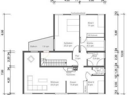 Ab 01.10.2021 Schöne, geräumige vier Zimmer Wohnung in Esslingen (Kreis), Oberboihingen