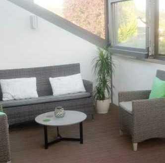 Schöne, geräumige drei Zimmer Wohnung mit einladender Loggia in ruhiger Lage in Schermbeck
