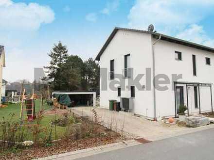 Naturnah Wohnen in neuwertigem Haus! 5-Zi.-EFH mit Garten und hochwertiger Ausstattung nahe Nürnberg