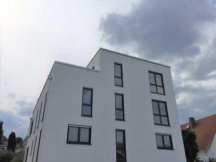Große Maisonette-Wohnung mit Dachterrasse und Skyline-View (Neubau, Erstbezug)