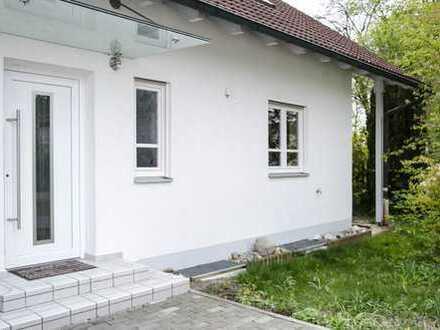 ruhige Lage, im Grünen, viele Extras, 4 ZKB mit Garten und Terrasse, interessant für München Pendler
