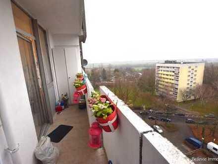 Frankfurter Berg: 1,5 Zimmer-Wohnung mit Balkon und Stellplatz