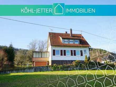 Sonniges Ein/Zweifamilienhaus mit schönem Grundstück in Hechingen-Schlatt!