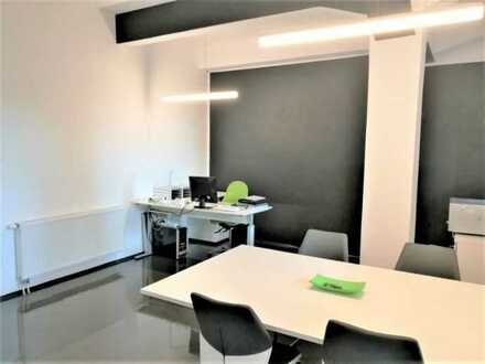 Wohn-Büro / Wohn-Atelier in ehemaligem Verwaltungsgebäude eines großen Industrieareals