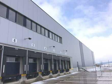 PROVISIONSFREI, ab 3,70 €/m², ca. 21.700 m² Hallenfläche (teilbar), 25 Rampen, 10,5 m UKB