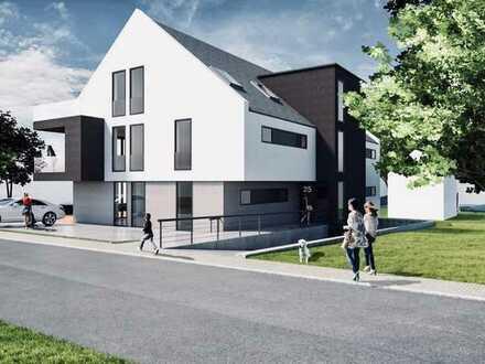 Erstbezug: attraktive 3-Zimmer-Erdgeschosswohnung mit großer Terrasse