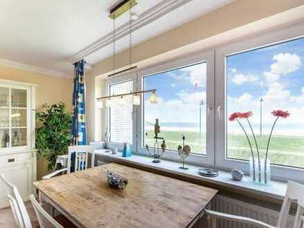 Erste Reihe: Wohnung mit Blick aufs Meer