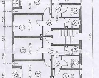 Zwei preiswerte, gepflegte 2- bzw. 3-Zimmer-Wohnungen mit Balkon in Duisburg