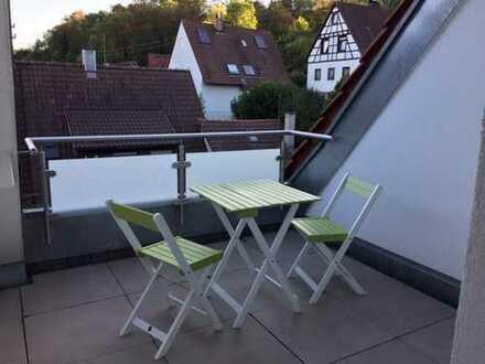 Schöne möblierte drei Zimmer Maisonettewohnung in Ludwigsburg Alt-Hoheneck (Kreis), Ludwigsburg