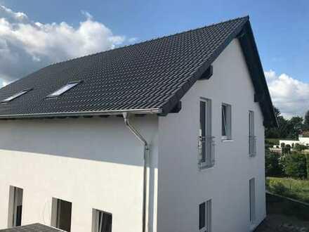 Neubau Energiespar-Doppelhaushälfte 6 min. zu Fuss zur S1 (N-R)