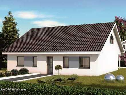 Massivhaus Bungalow mit Erweiterungspotential - FAVORIT Chalet 115