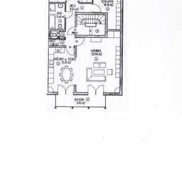 Gepflegte 4-Zimmer-Wohnung mit Balkon in Altlußheim