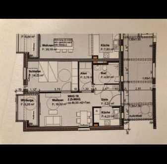 Stilvolle 2-Zimmer-Wohnung mit Balkon und EBK in Konstanz
