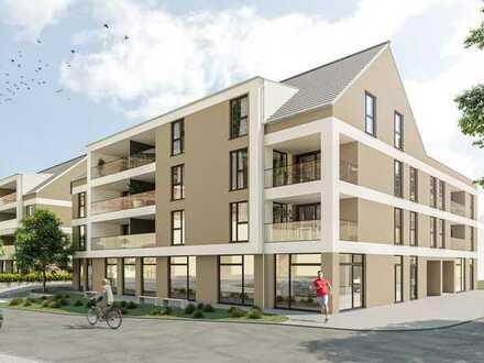 Moderne 2-Zimmerwohnung mit Loggia und Gartenanteil!