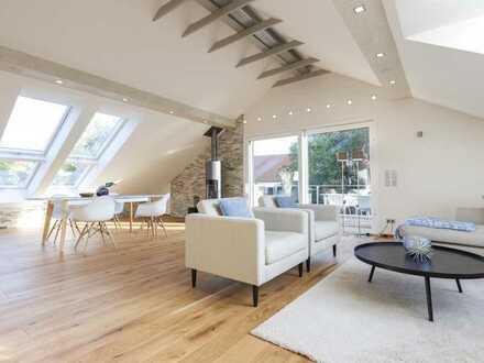 Luxus pur mit Wasserblick – Dachgeschosswohnung der Extraklasse!