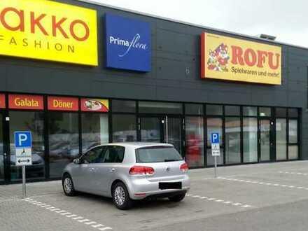 Einzelhandelsfläche im Main-Regnitz-Center Bischberg zu vermieten
