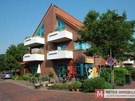 Moderne Oberwohnung mit Balkon und Keller im Ortskern von Wiefelstede (Objekt-Nr.: 5766)