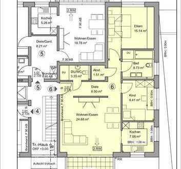 Moderne 3- Zimmerwohnung in Troisdorf-Spich