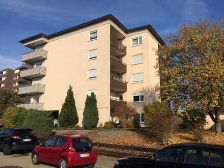 Günstige, gepflegte 2-Zimmer-Wohnung mit Balkon und Einbauküche in Albstadt