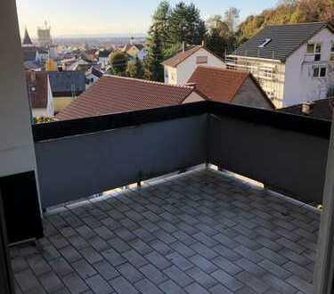 Schöne 2,5 Zimmer Wohnung in Leimen mit großem Balkon Aussicht