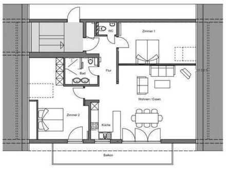 Erstbezug nach hochwertiger Renovierung - Drei-Zimmer-Wohnung mit Blick auf den Hochrhein