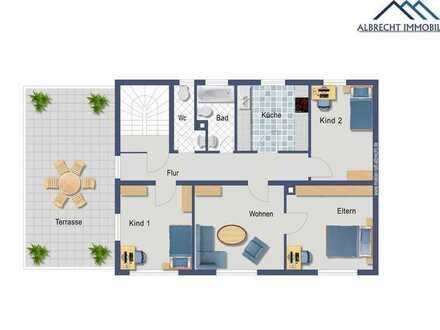 Familienglück auf ca. 230qm mit Laden , neue Küche, großes Tageslichtbad, Kaminofen, Dachterrasse