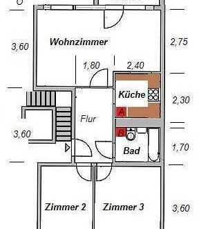 Vollständig renovierte 3-Zimmer-Wohnung mit Balkon und EBK in Erkner